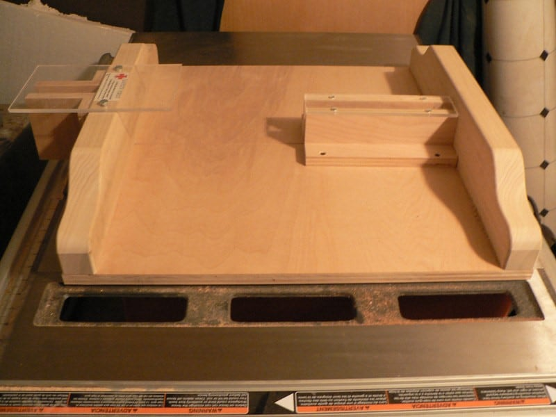 Why Build A Table Saw Sled